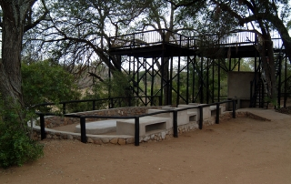 Tree House - facilities at Ntsiri Game reserve